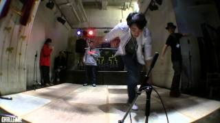 TAP DANCE BATTLE 2014  CHALLENGE  FINAL 安達雄基 VS Aska Shiozawa