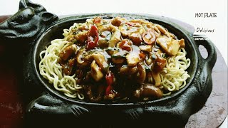 Resep Mie Hot Plate Super Delicious
