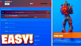 "The Fastest Way To Complete ""RUIN Challenges"" In Fortnite! (New RUIN Skin, Back Bling and Pickaxe!)"