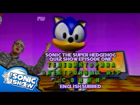 SonicTheSuperHedgehog 1994 Russian Quiz Show - English Sub