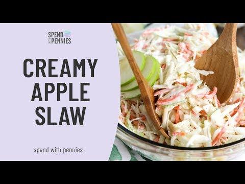 Creamy Apple Slaw
