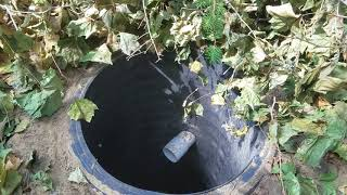 How DEEP Should a DRY WELL be and How FAR from the House Should it be Installed?