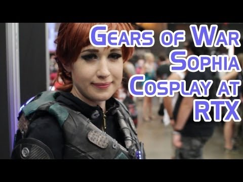 Gears of War Sofia Cosplay at Rooster Teeth Expo