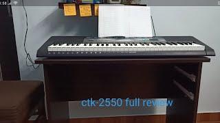 Ctk- 2550 full review