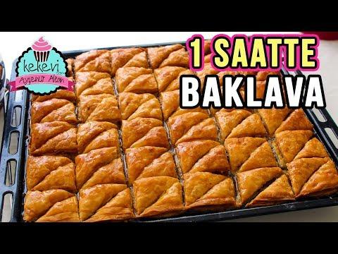 1 Saatte Merdane İle Çıtır BAKLAVA Tarifi /Cevizli Ev Baklavası | Ayşenur Altan Yemek Tarifleri