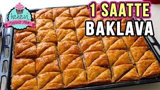 1 Saatte Merdane İle Çıtır BAKLAVA Tarifi /Cevizli Ev Baklavası   Ayşenur Altan Yemek Tarifleri