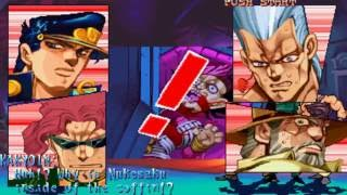 Gambar cover Jojo's Bizarre Adventure (Capcom) - Parte Final: El Mundo