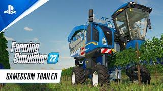 Farming Simulator 22 - Gamescom Gameplay Trailer | PS5, PS4