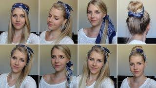 8 coiffures avec un bandana ! Thumbnail