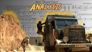 """Raiders of the Lost Ark: """"Desert Chase"""" by John Williams (Score Reduction and Analysis)"""