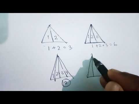 EASY WAY TO FIND NO OF TRIANGLE
