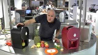 Julavie Juicer: Making an Orange, Pineapple and Ginger Juice