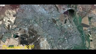 1984'ten günümüze, Diyarbakır'ın uzaydan görüntüleri