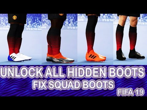 FIFA 19 SQUAD FIX BOOTS AND UNLOCK