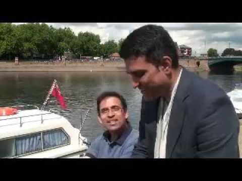 Harsha Bhogle singing with Sanjay Manjrekar. #SingingCricketers Episode 1.