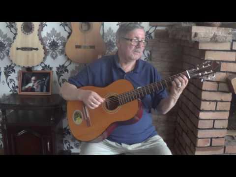 Классическая гитара с металлическими струнами