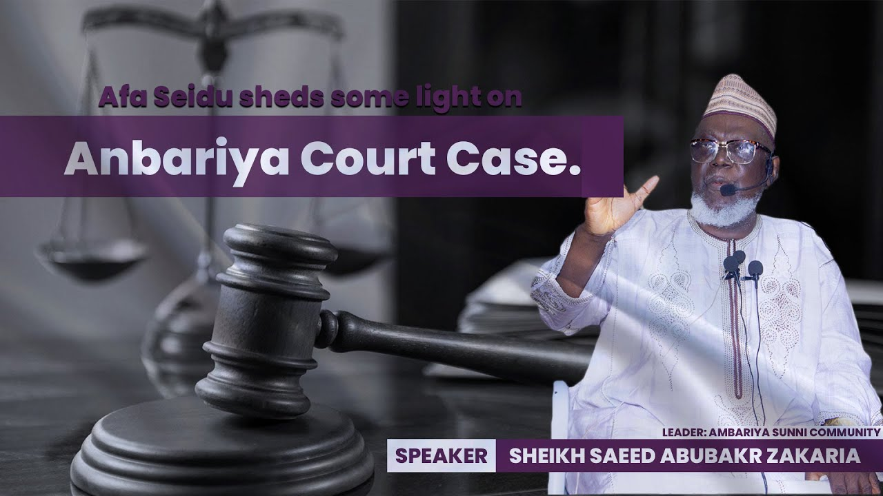 Download AFA SAEED Sheds Some Light on Anbariya Court Case || Abaacha Wonders Diaries || Official