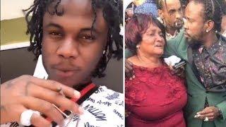 Masicka Attack The 6IXX , Squash, Rygin King | Popcaan HUG Shagel MOTHER At Funeral