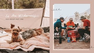 In The Wilderness | July Recap Pt. 1