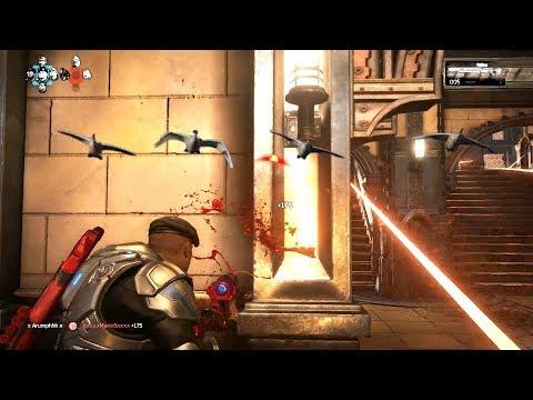 BIRD HUNTING! (Gears of War 4) Multiplayer Gameplay With Ess MooMooMiLK & Ess Rawr!