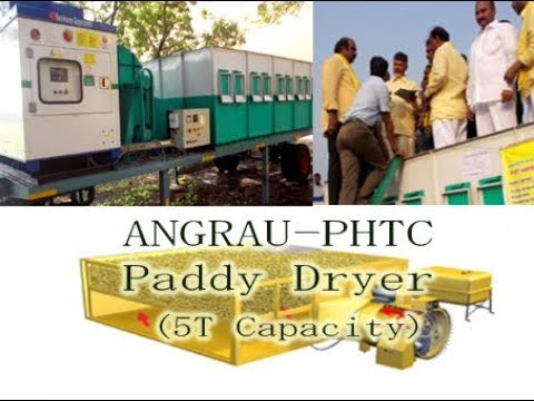 ANGRAU - PHTC Paddy Dryer (5T Capacity)