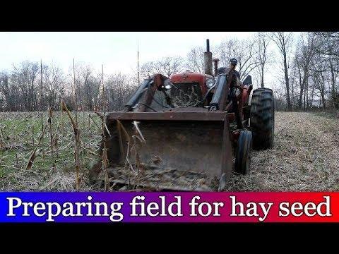 Preparing Field For Planting Alfalfa Hay