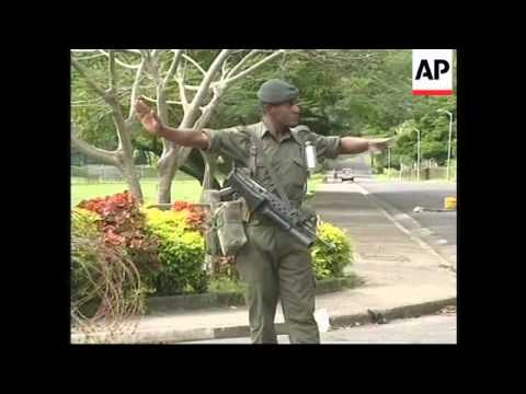 FIJI:  COUP ARMY LEADER BAINIMARAMA SPEAKS