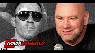 Dana White praises Colby Covington and confirms Broken Jaw  (UFC 245)