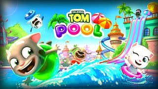 Talking Tom Pool - Outfit7 Limited Level 47-49 Walkthrough