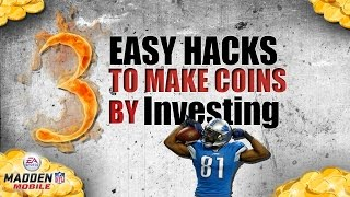 Madden Mobile 17 COIN HACKS AND TRICKS TO MAKE MILLIONS BY INVESTING