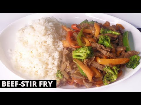 HOW TO MAKE QUICK AND DELICIOUS BEEF-STIR FRY YOU CAN ENJOY IN LESS THAN 20 MINS.