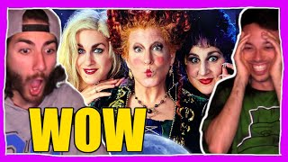 Watching HOCUS POCUS.. Best Halloween Movie? (Movie COMMENTARY & REACTION) Disneys Hocus Pocus Movie
