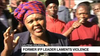 DISCUSSION: Joburg unrest with Prof. Lesiba Tefo