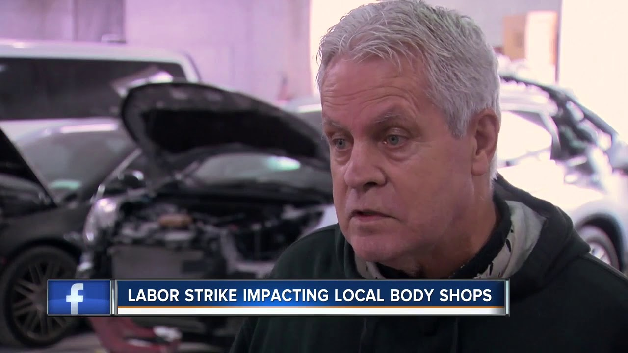 Local Body Shops >> Gm Labor Strike Impacting Local Body Shops