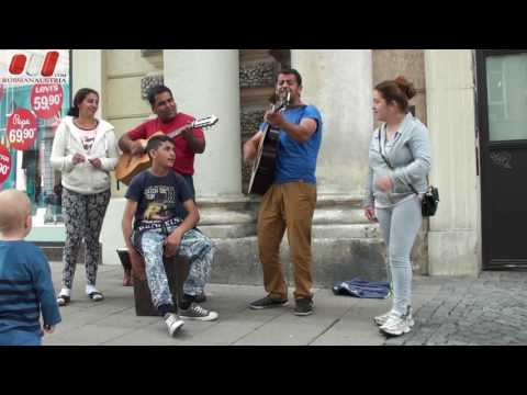 Super Family. (Slovakia). Band. Amazing Vienna Street Performers Live by Russian Austria (FHD)