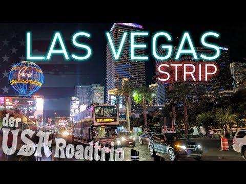 USA ROADTRIP Vlog 4K - Tag 12 │Las Vegas Der Strip, Eine Andere Welt, Tour  + Kostenübersicht $ │