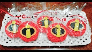 INCREDIBLES  2  Galletas De Rice Krispies