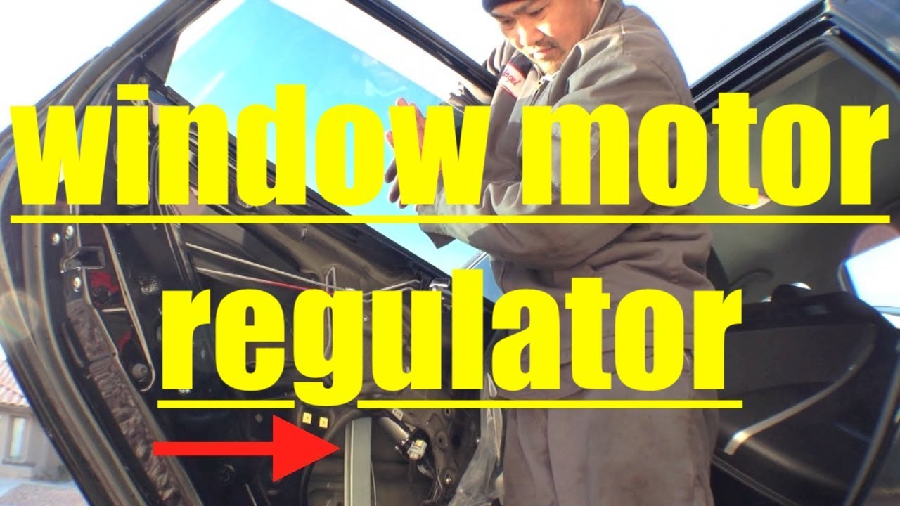 Easy Rear Window Motor Regulator Replacement 12 16