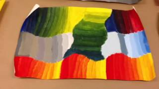 Gloria Rabinowitz High School Art Lesson: Mixing Primary And Secondary Colors