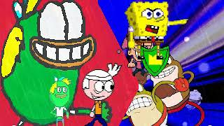 MI MUGEN Request 410 - Team Spongebob VS Cuphead Bosses