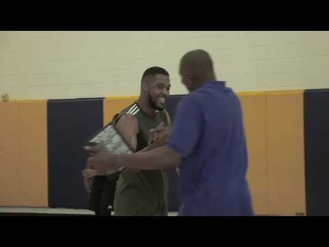 The Skill Factory: Derrick Favors Training Session