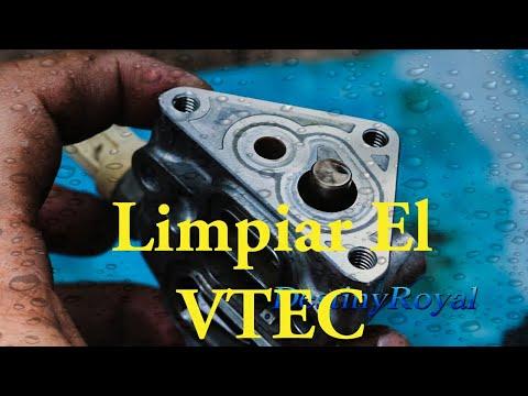 Cómo Limpiar La Válvula De Tiempo Variable  VTEC - Cleaning The VTEC Solenoid.