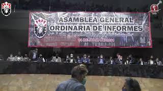 Asamblea General Ordinaria de Informes 14 de julio 2021