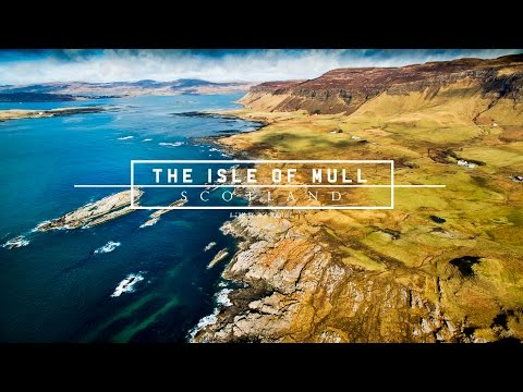 Drone Footage - Fly Above The Beautiful Isle of Mull
