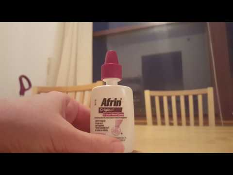 How to open Afrin