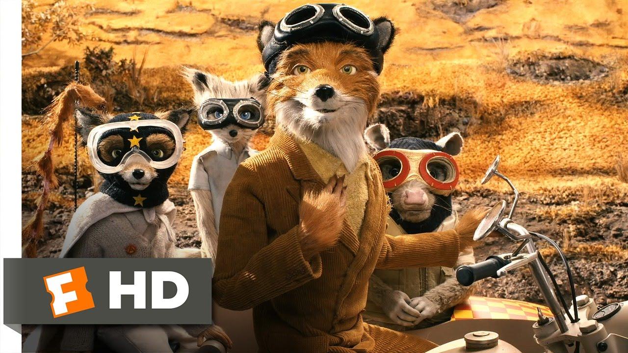 Fantastic Mr Fox 5 5 Movie Clip Meeting The Wolf 2009 Hd Youtube