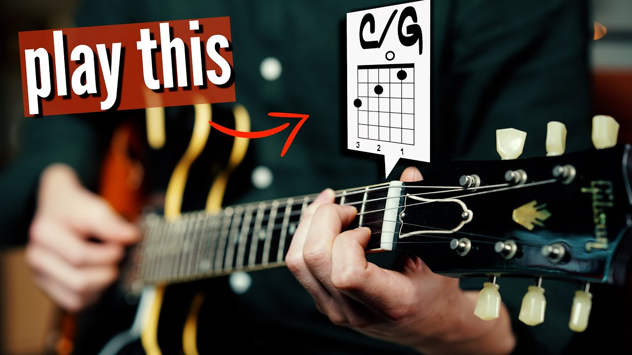 The magic of SLASH CHORDS (and fix your boring chord progressions)
