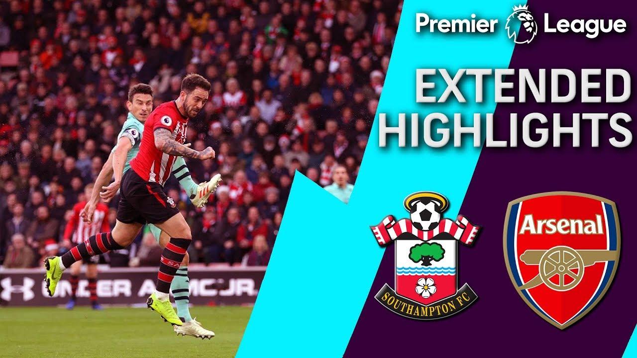 Southampton v. Arsenal | PREMIER LEAGUE EXTENDED HIGHLIGHTS | 12/16/18 | NBC Sports