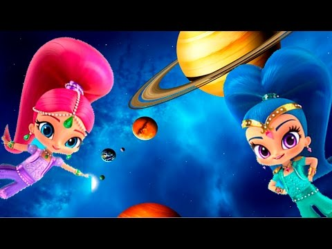 Shimmer and Shine, Bubble Guppies, Blaze - Blast off. game