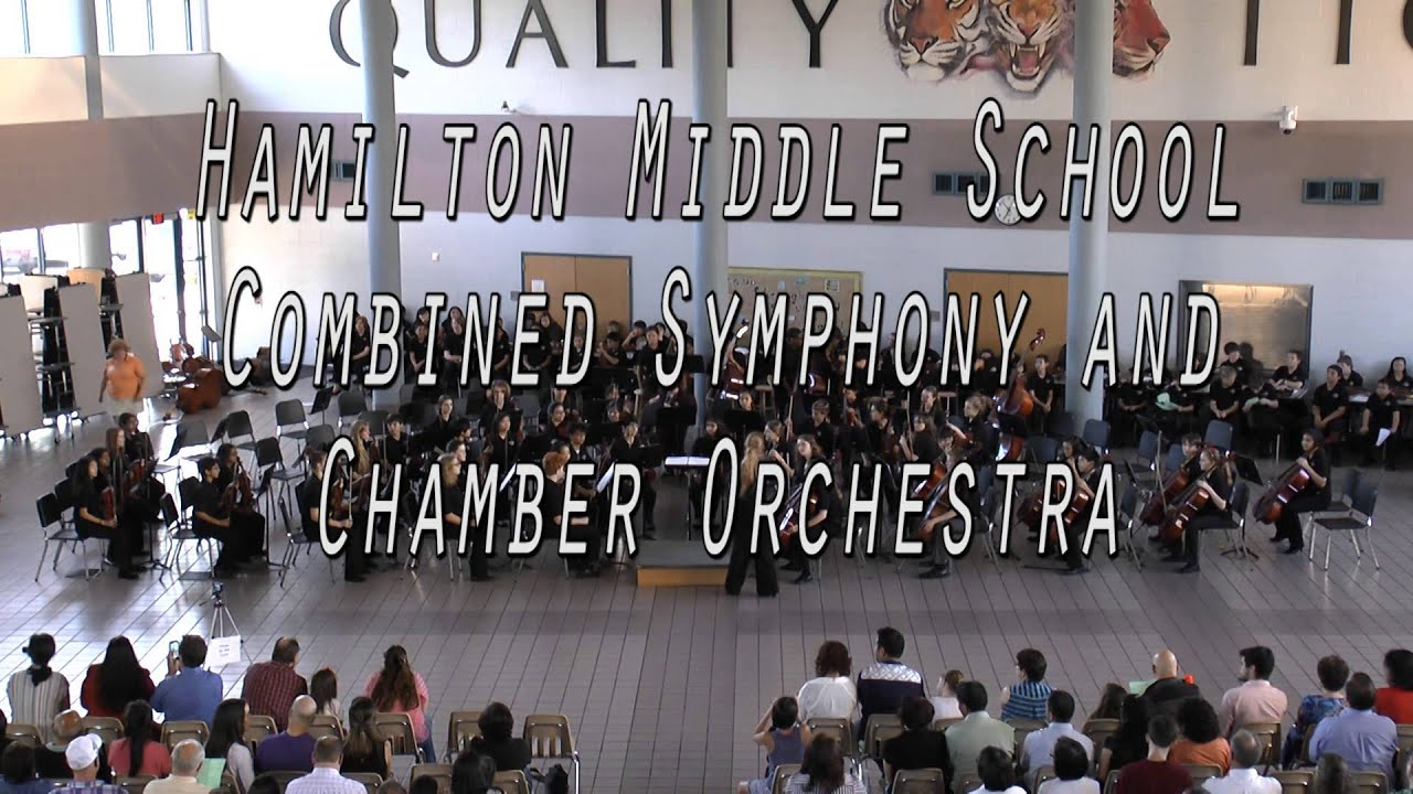 Hamilton Middle School CFISD Spring Concert 2014 - YouTube